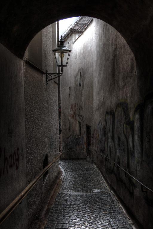 Damp Alleyway